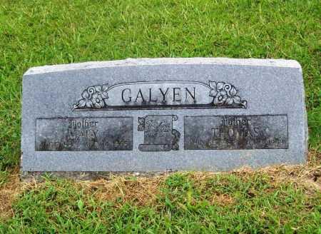 GALYEN, THOMAS - Benton County, Arkansas | THOMAS GALYEN - Arkansas Gravestone Photos