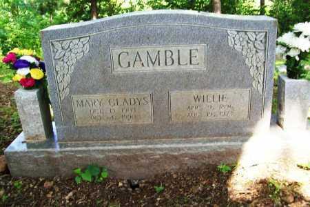GAMBLE, MARY GLADYS - Benton County, Arkansas   MARY GLADYS GAMBLE - Arkansas Gravestone Photos
