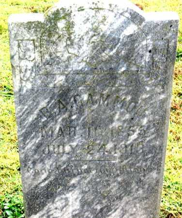GAMMON, B. A. - Benton County, Arkansas | B. A. GAMMON - Arkansas Gravestone Photos