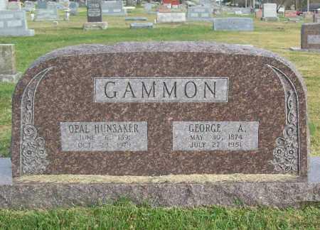 GAMMON, OPAL - Benton County, Arkansas | OPAL GAMMON - Arkansas Gravestone Photos