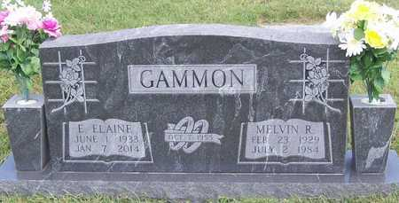 GAMMON, MELVIN RICHARD - Benton County, Arkansas | MELVIN RICHARD GAMMON - Arkansas Gravestone Photos