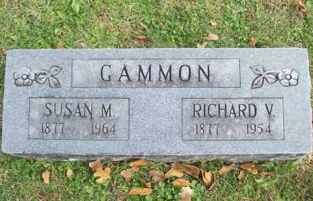GAMMON, RICHARD V. - Benton County, Arkansas   RICHARD V. GAMMON - Arkansas Gravestone Photos