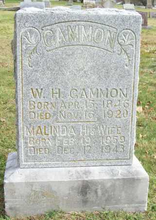 GAMMON, WILLIAM H - Benton County, Arkansas | WILLIAM H GAMMON - Arkansas Gravestone Photos