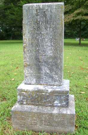 GARDNER, SARAH E. - Benton County, Arkansas | SARAH E. GARDNER - Arkansas Gravestone Photos