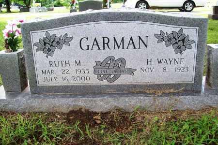 GARMAN, RUTH MARIE - Benton County, Arkansas | RUTH MARIE GARMAN - Arkansas Gravestone Photos