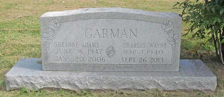ADAMS GARMAN, SUZANNE - Benton County, Arkansas | SUZANNE ADAMS GARMAN - Arkansas Gravestone Photos