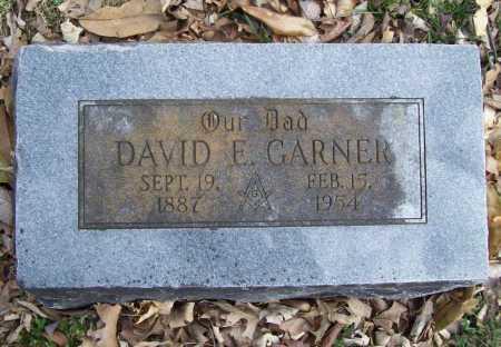 GARNER, DAVID E. - Benton County, Arkansas | DAVID E. GARNER - Arkansas Gravestone Photos