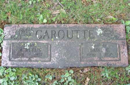 GAROUTTE, SADIE C. - Benton County, Arkansas | SADIE C. GAROUTTE - Arkansas Gravestone Photos