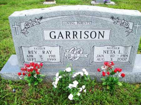 GARRISON, REV. RAY - Benton County, Arkansas   REV. RAY GARRISON - Arkansas Gravestone Photos