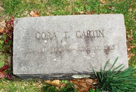 GARTIN, CORA T. - Benton County, Arkansas | CORA T. GARTIN - Arkansas Gravestone Photos