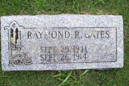 GATES, RAYMOND R. - Benton County, Arkansas | RAYMOND R. GATES - Arkansas Gravestone Photos