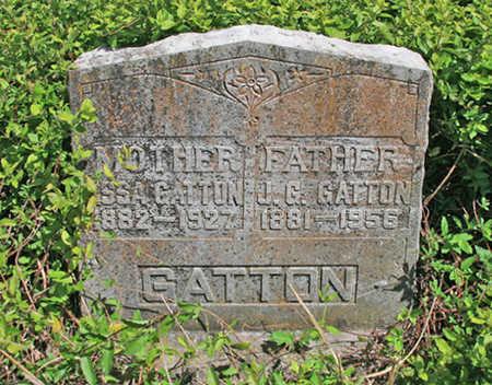 GATTON, J G - Benton County, Arkansas | J G GATTON - Arkansas Gravestone Photos