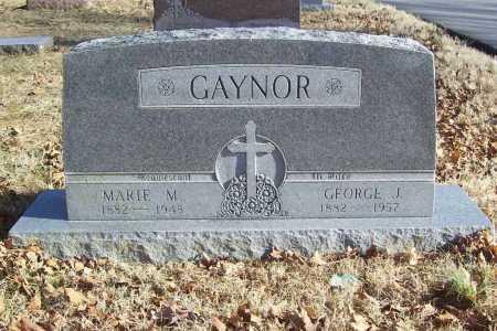 GAYNOR, GEORGE J. - Benton County, Arkansas | GEORGE J. GAYNOR - Arkansas Gravestone Photos
