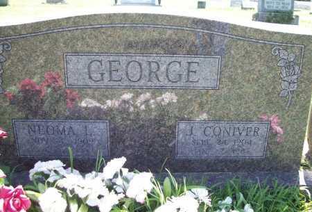 GEORGE, J. CONIVER - Benton County, Arkansas | J. CONIVER GEORGE - Arkansas Gravestone Photos