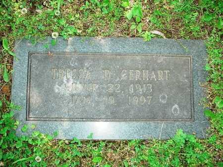 GERHART, TRESSA D. - Benton County, Arkansas   TRESSA D. GERHART - Arkansas Gravestone Photos