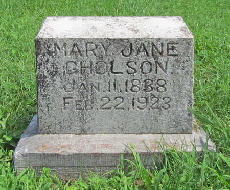 GHOLSON, MARY JANE - Benton County, Arkansas | MARY JANE GHOLSON - Arkansas Gravestone Photos