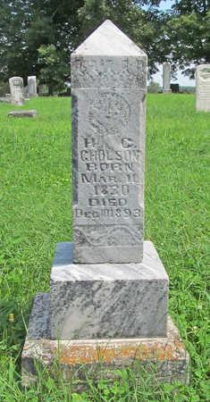 GHOLSON (VETERAN CSA), HENRY C - Benton County, Arkansas | HENRY C GHOLSON (VETERAN CSA) - Arkansas Gravestone Photos