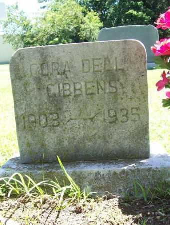 GIBBENS, CORA DELL - Benton County, Arkansas | CORA DELL GIBBENS - Arkansas Gravestone Photos