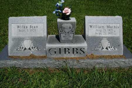 GIBBS, WILLIAM MATHIS - Benton County, Arkansas | WILLIAM MATHIS GIBBS - Arkansas Gravestone Photos