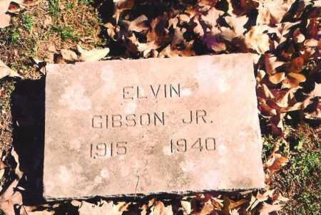 GIBSON, ELVIN, JR. - Benton County, Arkansas | ELVIN, JR. GIBSON - Arkansas Gravestone Photos