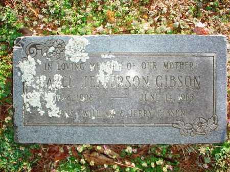 JEFFERSON GIBSON, HAZEL - Benton County, Arkansas | HAZEL JEFFERSON GIBSON - Arkansas Gravestone Photos