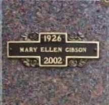 BARNES GIBSON, MARY ELLEN - Benton County, Arkansas | MARY ELLEN BARNES GIBSON - Arkansas Gravestone Photos