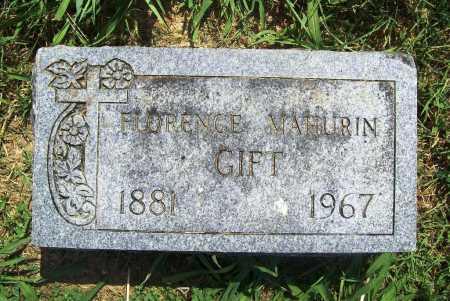 GIFT, FLORENCE - Benton County, Arkansas   FLORENCE GIFT - Arkansas Gravestone Photos