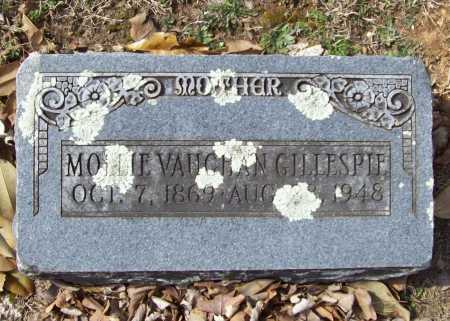 VAUGHAN GILLESPIE, MOLLIE - Benton County, Arkansas | MOLLIE VAUGHAN GILLESPIE - Arkansas Gravestone Photos