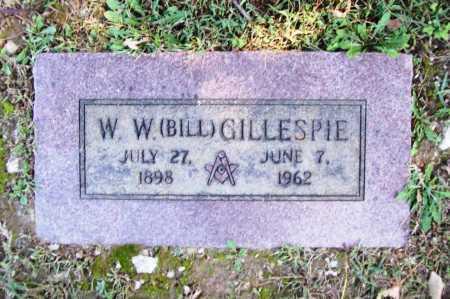 GILLESPIE, W. W. (BILL) - Benton County, Arkansas | W. W. (BILL) GILLESPIE - Arkansas Gravestone Photos