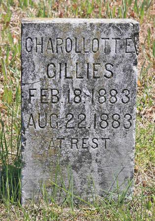 GILLIES, CHAROLLOTTE - Benton County, Arkansas | CHAROLLOTTE GILLIES - Arkansas Gravestone Photos