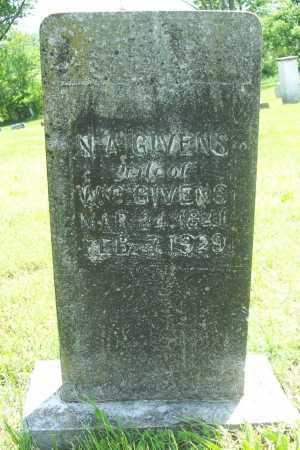 GIVENS, NANCY ANN - Benton County, Arkansas   NANCY ANN GIVENS - Arkansas Gravestone Photos
