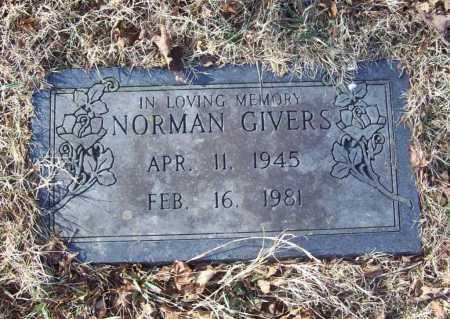 GIVERS, NORMAN - Benton County, Arkansas | NORMAN GIVERS - Arkansas Gravestone Photos