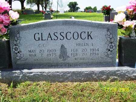 GLASSCOCK, COMMIE CHESTER - Benton County, Arkansas | COMMIE CHESTER GLASSCOCK - Arkansas Gravestone Photos