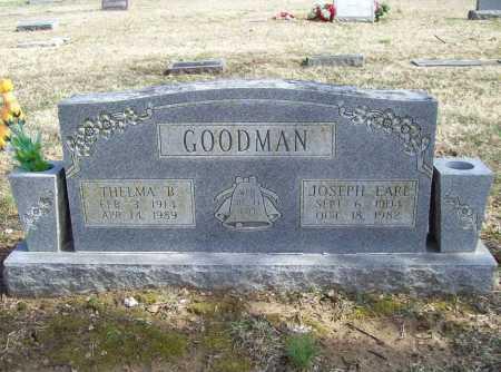 GOODMAN, THELMA B. - Benton County, Arkansas   THELMA B. GOODMAN - Arkansas Gravestone Photos