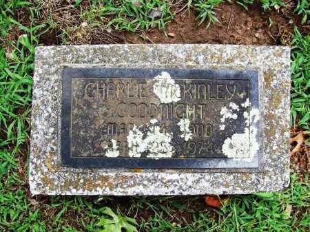 GOODNIGHT, CHARLIE MCKINLEY - Benton County, Arkansas   CHARLIE MCKINLEY GOODNIGHT - Arkansas Gravestone Photos