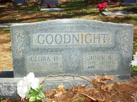 GOODNIGHT, CLORA H. - Benton County, Arkansas | CLORA H. GOODNIGHT - Arkansas Gravestone Photos
