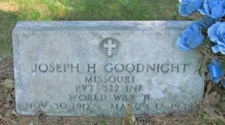 GOODNIGHT (VETERAN WWII), JOSEPH H - Benton County, Arkansas | JOSEPH H GOODNIGHT (VETERAN WWII) - Arkansas Gravestone Photos