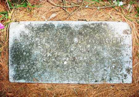 GOODNIGHT (VETERAN WWI), VIRGIL C. - Benton County, Arkansas | VIRGIL C. GOODNIGHT (VETERAN WWI) - Arkansas Gravestone Photos