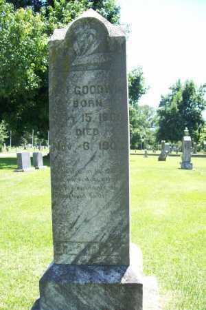 GOODWIN, A. J. - Benton County, Arkansas | A. J. GOODWIN - Arkansas Gravestone Photos