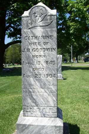 GOODWIN, CATHERINE - Benton County, Arkansas   CATHERINE GOODWIN - Arkansas Gravestone Photos