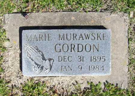 MURAWSKE GORDON, MARIE - Benton County, Arkansas | MARIE MURAWSKE GORDON - Arkansas Gravestone Photos