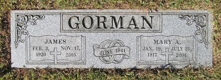 ROUNDCOUNT GORMAN, MARY A - Benton County, Arkansas   MARY A ROUNDCOUNT GORMAN - Arkansas Gravestone Photos
