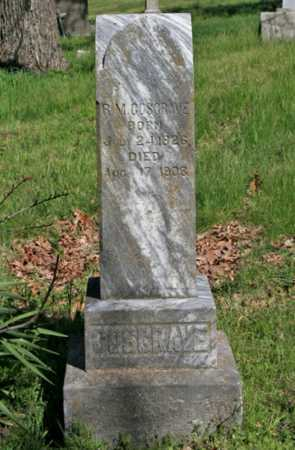 GOSGRAVE, R. M. - Benton County, Arkansas | R. M. GOSGRAVE - Arkansas Gravestone Photos