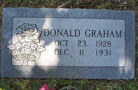 GRAHAM, DONALD E. - Benton County, Arkansas   DONALD E. GRAHAM - Arkansas Gravestone Photos