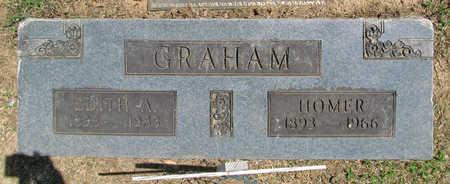 "GRAHAM, ELBERT C ""HOMER"" - Benton County, Arkansas | ELBERT C ""HOMER"" GRAHAM - Arkansas Gravestone Photos"