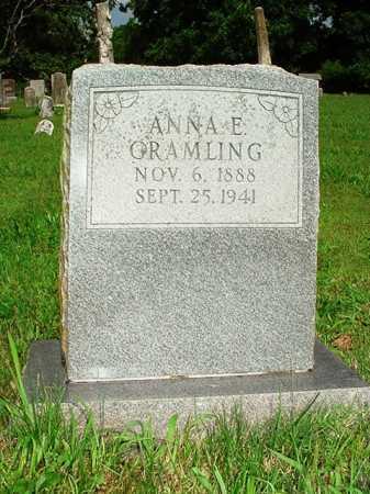 GRAMLING, ANNA E. - Benton County, Arkansas | ANNA E. GRAMLING - Arkansas Gravestone Photos