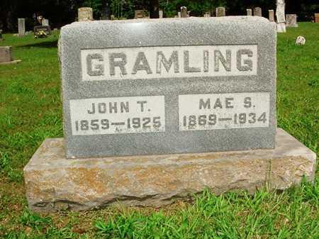 GRAMLING, JOHN T. - Benton County, Arkansas   JOHN T. GRAMLING - Arkansas Gravestone Photos