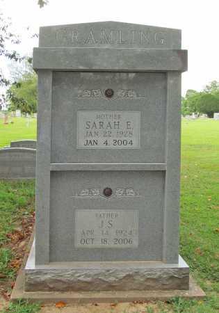 GRAMLING, SARAH E - Benton County, Arkansas   SARAH E GRAMLING - Arkansas Gravestone Photos
