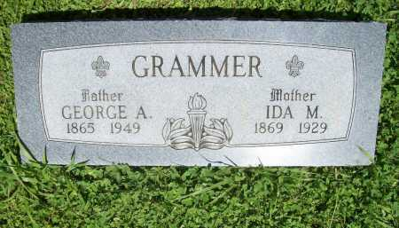 GRAMMER, GEORGE A. - Benton County, Arkansas | GEORGE A. GRAMMER - Arkansas Gravestone Photos