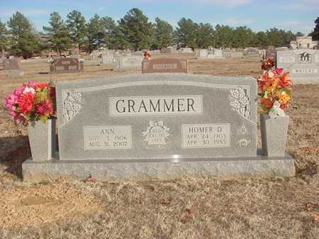 GRAMMER, HOMER D. - Benton County, Arkansas | HOMER D. GRAMMER - Arkansas Gravestone Photos